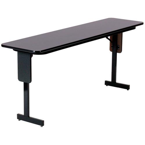 Correll Panel Leg High-Pressure Laminate Seminar Training Folding Table (CL-SPPX)  - USA - 5 Colors - 6 Sizes