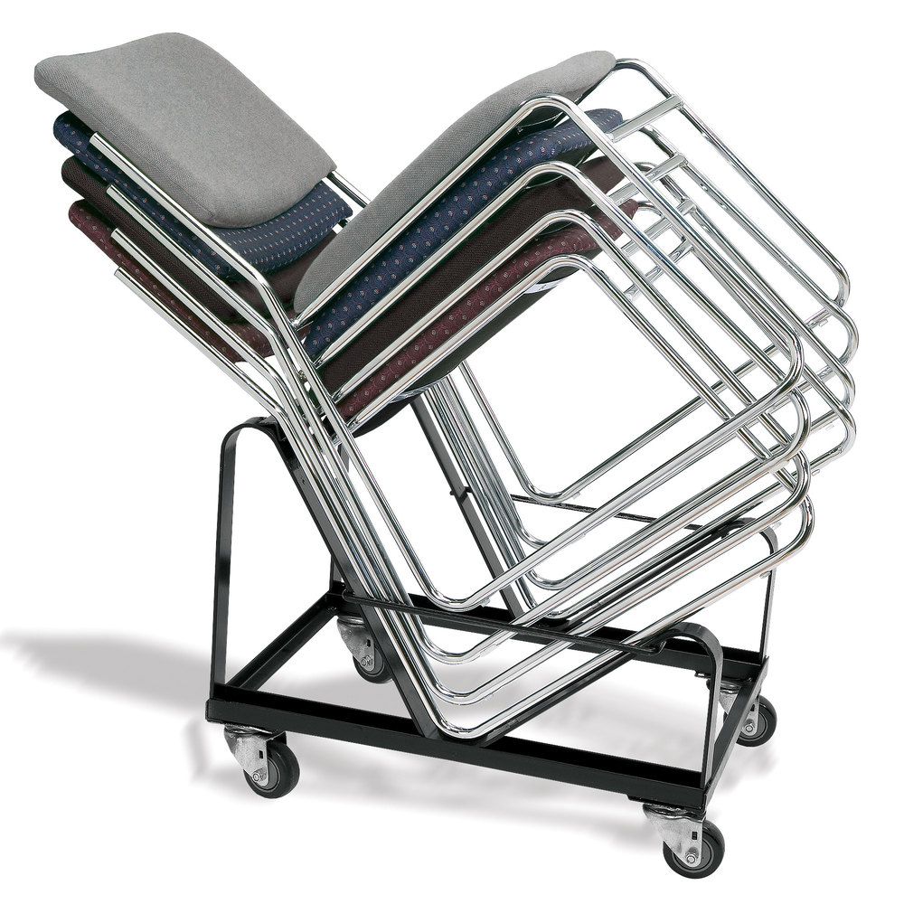 20 capacity stack chair dolly by national public seating model dy