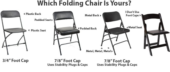 Which Parts You Need For Your Folding Chairs