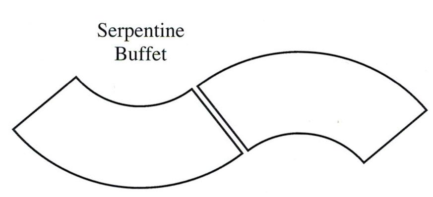 How To Arrange Your Buffet Area Foldingchairsandtables Com