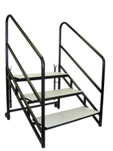 """3 Step for 16""""H Steps For Portable Performance Stages - 3 Sizes"""