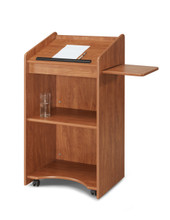 Aristocrat Floor Lectern By Oklahoma Sound
