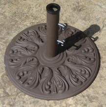 Galtech 40 lb. European Premium Cast Iron Umbrella Stand, Model 040