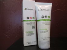 Olivella Hand Cream : Absorbs quickly leaving hands soft and smooth with no oily residue.  Developed especially for the hands, our Virgin Olive Oil formula is suitable for all skin types.  Ideal for dry, chapped skin. Paraben free, no dyes or animal fats. Dermatologically tested.  -2.54 fl. oz. / 75 ml.- (Product of Italy)