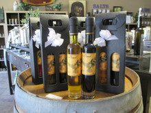 As A Member of The Olive Branch Oil & Vinegar Club Promotion, Each Month You Will Receive  (2) 6.7 fluid oz. bottles of (1) Extra Virgin Olive Oil and (1) 12 Year Aged Flavored Balsamic Vinegar.  Each Pairing Is Hand Selected To Ensure Each and Every Olive Oil and Balsamic Vinegar Are Best Suited Together For Each Pairing.  (Orders Placed Will Be Shipped Every 5th Day Of The Month.)  +Please Allow (5) Business Days for UPS Delivery.+