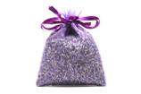 Lavender-Filled Sachet - Purple Organza Fabric