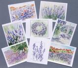 Assortment of 8 Notecards