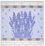 Tea Towel - Lavender & Bees Square