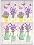 Tea Towel - Swedish Lavender - Bottles