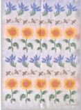 Tea Towel - Swedish Lavender - Sunflowers