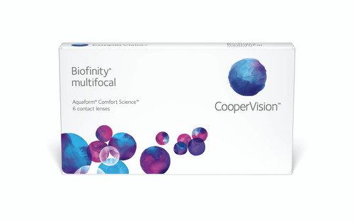 Biofinity MultiFocal - 6 Pack Front