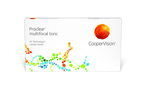 Proclear Multifocal Toric - 6 Pack Front