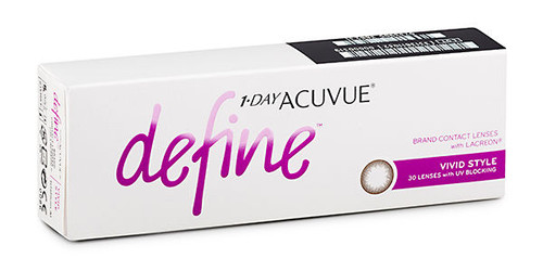 1 - Day Acuvue Define - Vivid Style - 30 Pack Front