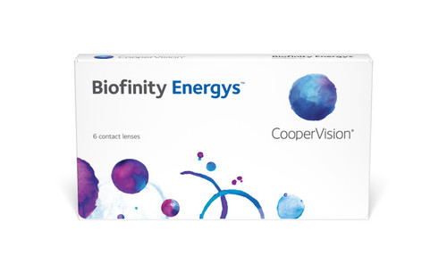 Biofinity Energys 6 Pack Front