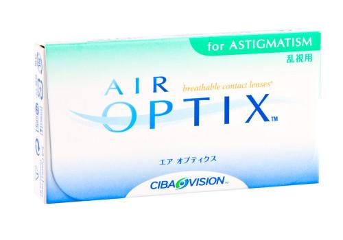 Air Optix Aqua for Astigmatism - 6 Pack Front