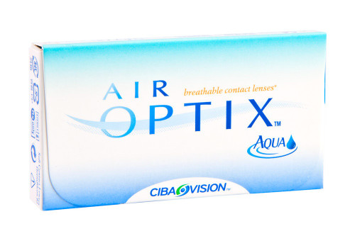 Air Optix Aqua 6 Pack Front