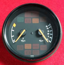 Porsche 911 964 Carrera 2 C2 VDO Oil Temp/Level Gauge 89-98 96464110301