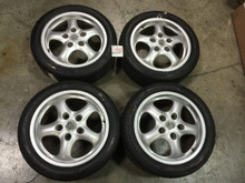 Porsche 993 911 964 Carrera Cup 2 Set (2) rear Wheels  9x17 ET55