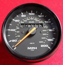 911 993 Turbo Speedometer Odometer 94-98 Manual (99364154700)