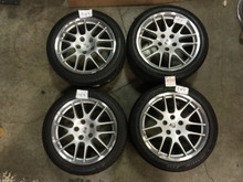 Porsche 970 Panamera RS Spyder 20' Wheels Set 970.362.192.00  970.362.178.08