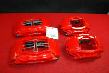 Porsche 993 911 Standard Set (4) of Brake Calipers Red Brembo OEM