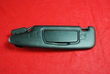 Porsche 981 Boxster LEFT Sun Visor Black Vinyl Leather 98173103133 0F7 OEM