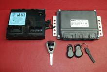 Porsche 911 997 Engine Computer control Unit Key ECU 99761860303 99761817212 SET