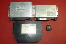 Porsche 911 997 SET of Engine, Anti-Theft, Gear Box, modules 99661826001 98661822502 ECU