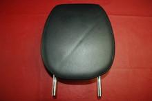 Porsche 955 Cayenne 2004-06 BLACK Leather Stitched FRONT Headrest Left Drivers