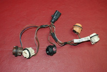 Porsche 911 997.1  Carrera Tail Light Wire Harness Cable Loom Plug 99763143600