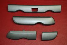 Porsche Boxster Cayman 987 Silver Matte Grey Front Dash TRIM COVER PANELS OEM