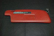 Porsche 911 964 Carrera Right Passenger Side RED Burgundy Sun Visor 96473103100