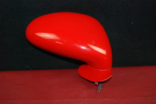Porsche 911 964 993 Red Aero Style Right Passenger Side Mirror 96573124201 OEM