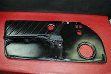 Porsche 911 Carrera Left Driver Side Door Panel Black Leather Genuine OEM