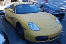 2008 Porsche 987C Cayman Yellow