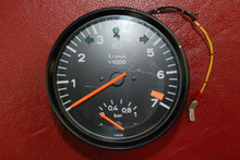 Porsche 911 930 Turbo Tach Tachometer With Boost 930.641.302.01 OEM Gauge