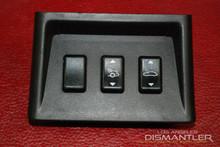Porsche 911 993 Center Console Switch Control Unit Housing Switches 99363227100