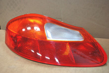 OEM Porsche 986 Boxster Rear Left Driver Side Tail Light Lens Red Amber Porsche 986.631.413.03