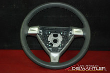 Porsche 911 997 Boxster Gray 3-Spoke Steering Wheel Grey Leather 99734780403 FOB