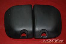 Porsche Boxster 986 LEFT RIGHT Rear Bumper Guard Pads Cover Driver Passenger Pad