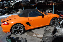 2008 987 Boxster Orange