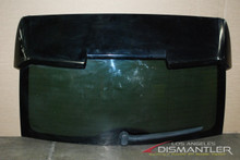 03-10 Porsche Cayenne Rear Trunk Lid Decklid Tailgate Hatch Spoiler Glass OEM