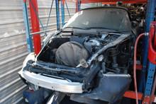 2002 Black 996 Cabriolet