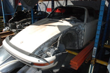 1995 993 Silver Carrera Cabriolet
