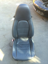 Driver Side Perf Leather 8-way Power Porsche 996 Seat Black