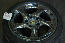 Porsche Chrome Hallow Spoke  996 Turbo twist Wheel 11x18 ET45  99636214211
