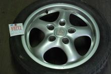 """Porsche  993 911 7x17 ET55 Cup II Wheel Rim 9933612400 17"""" Rim"""