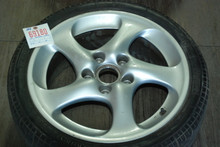 "Porsche 996 911 Turbo Twist Hallow Spoke Wheel 8x18 ET50 99636213604  18"" Rim"