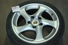 "Porsche 911 996 Turbo Twist Wheel Solid Spoke 8x18 ET50  99636213601 18"" Rim"