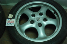 "Porsche 911 993 Set of 4 Cup II Wheels 7x17 ET55 9x17 ET55  9933612400 99336212800 17"" Rim"